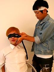 Japanese Boys Ken and Masa in The Ninja Seduction