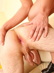 Sexy fresh twinks strip each other and fuck hard