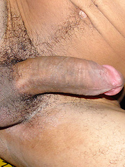 Naked big-dicked South-American boy