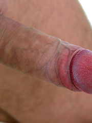 Professional dancer Hasher showing straight cock