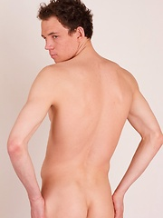 Unique pictures of twink Alex Newmann where guy shows bum