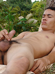 Armando loves playing with his cock