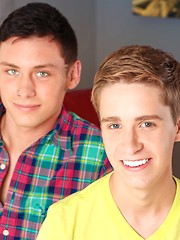 Twinks Stephen Charles And Brent Brandt Are Hot Lovers