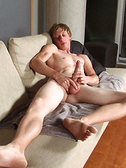 Tom Moore shows his very long cock