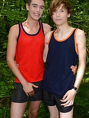 Horny Twinks Head For The Woods For A Raw, Uncompromising Suck & Fuck!