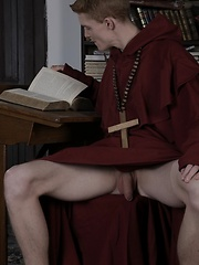 Brother Laarson Gets Two Cocks Up His Ass Before Getting His Face Splattered With Jizz!