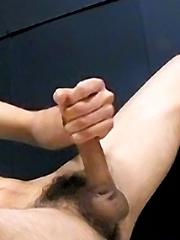 Shane Licks Up His Cum Load