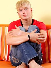 Blonde boy Austin