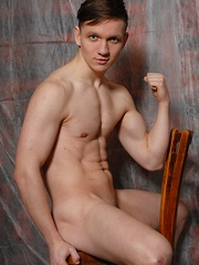 Phillip Barden is a show-off, happy to show his great body for camera